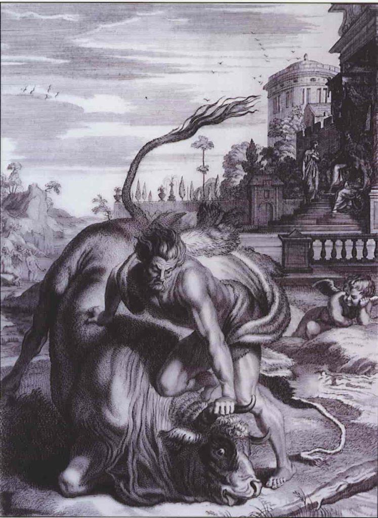 Hércules captura o Touro de Creta