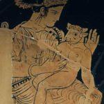 Pasífae e o bebê Minotauro
