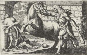 Hércules captura as éguas antropofágicas